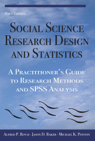 Social Science Research Design and Statistics Cover